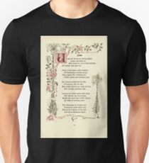 The Old Garden and Other Verses by Margaret Deland and Wade Campbell, Illustrated by Walter Crane 1894 88 - June Unisex T-Shirt