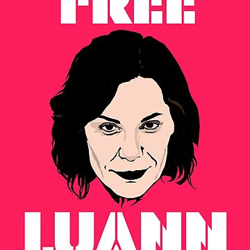 Real Housewives of New York Countess Luann De Lesseps 'FREE LUANN' mugshot arrest by TheBoyHeroine