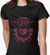Love Women's Fitted T-Shirt