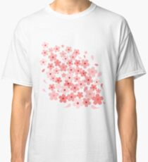 Cherry Blossom in Wind Classic T-Shirt