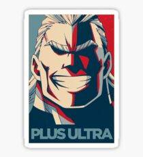 All Might Hope Sticker