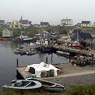 Fishing Port at Peggy's Cove by Nancy Richard