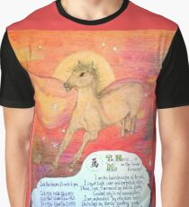 the horse, ;- chinese horoscopes, your year Graphic T-Shirt