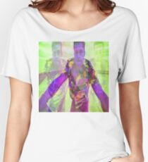 Psychedelic Pitt 03 Women's Relaxed Fit T-Shirt