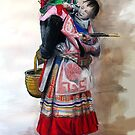 Mother and Child (Vietnam) by Lyn Fabian