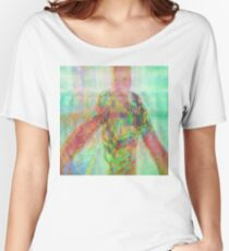 Psychedelic Pitt 04 Women's Relaxed Fit T-Shirt