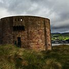 Martello Tower At Magilligan by Adrian McGlynn