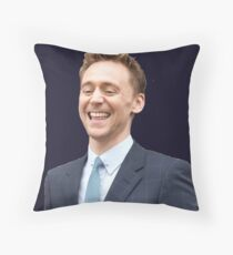 Hehehehe Throw Pillow