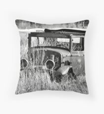 1930 Ford Model A Turon Sedan Throw Pillow