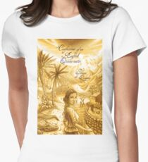 Thomas De Quincey's Confessions of an English Opium-Eater Women's Fitted T-Shirt