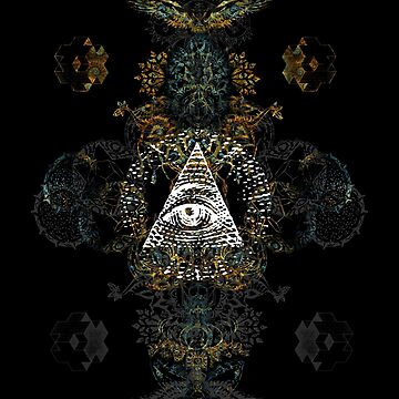 The all seeing EYE by hexagon-hgn