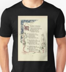 The Old Garden and Other Verses by Margaret Deland and Wade Campbell, Illustrated by Walter Crane 1894 112 - Bloodcoor Blossoms Unisex T-Shirt