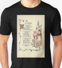 The Old Garden and Other Verses by Margaret Deland and Wade Campbell, Illustrated by Walter Crane 1894 69 - The Mignonette Unisex T-Shirt