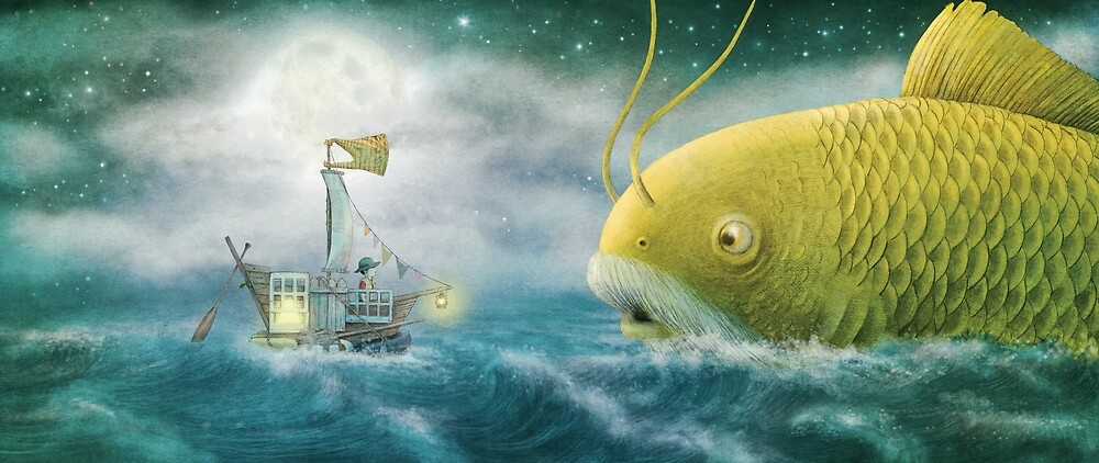 The Golden Fish by Eric Fan