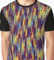 Rainbow Knit Graphic T-Shirt