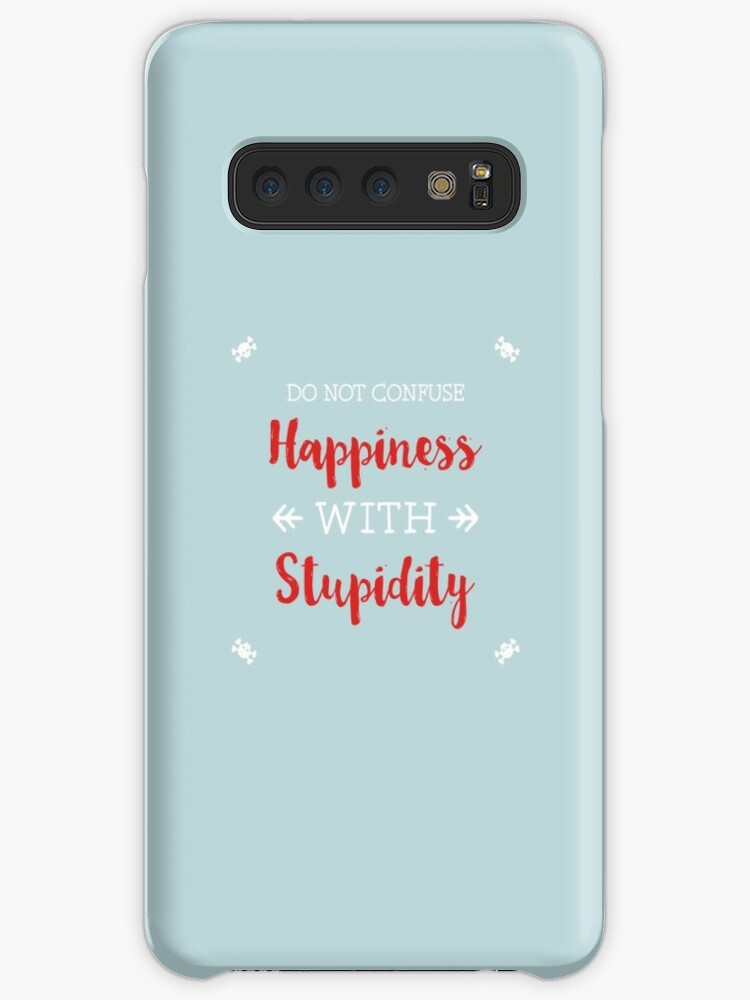 A Cure For Stupid People Samsung S10 Case