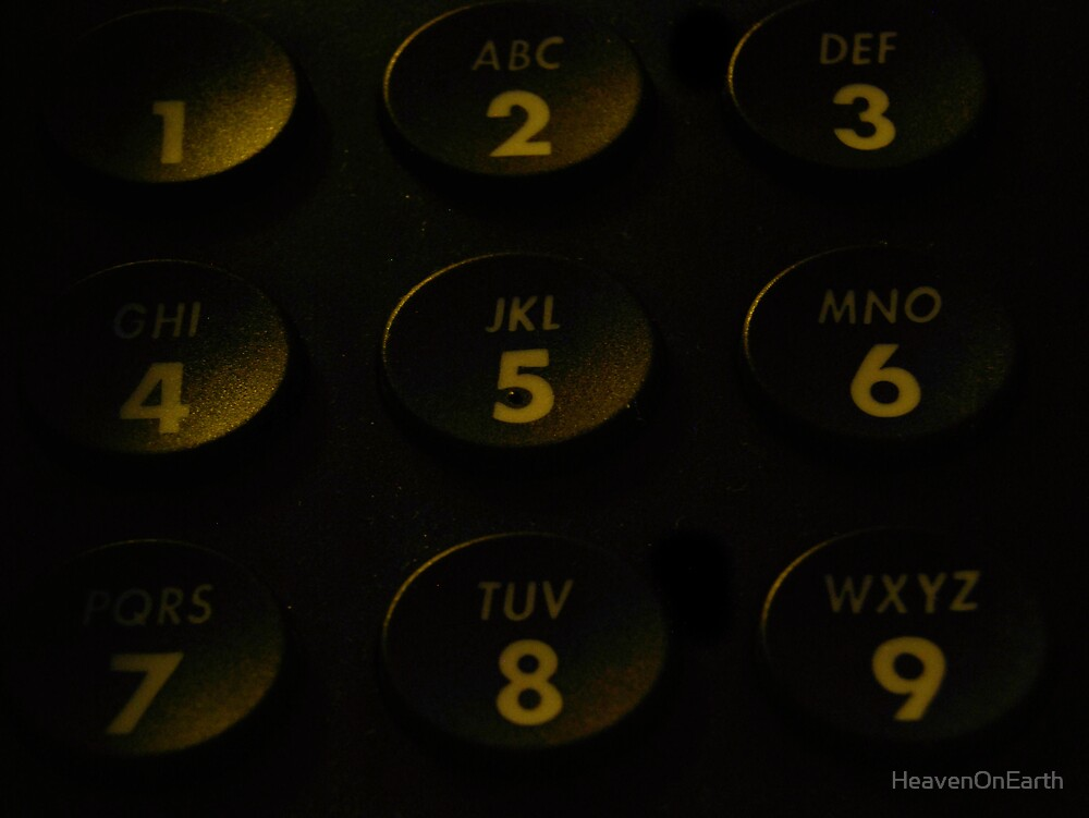 Push my buttons by HeavenOnEarth
