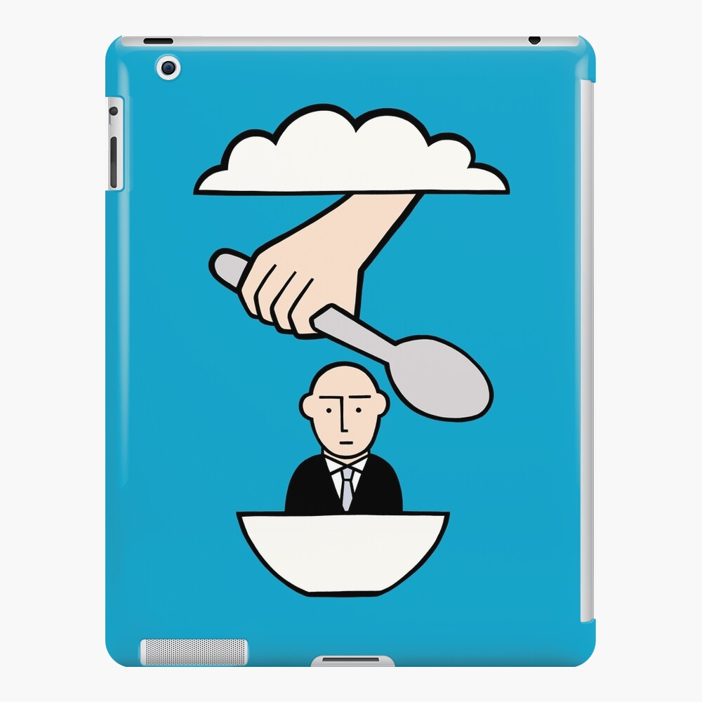 The most important meal iPad Case & Skin