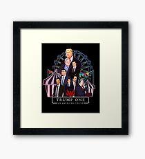 Trump One - An American Circus - Humor Satirical Merch Framed Print