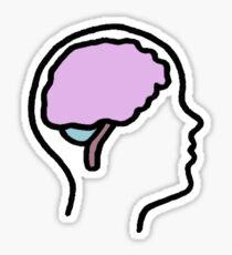 Brainiac Sticker
