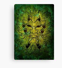 GREEN MAN Canvas Print