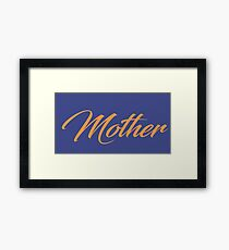 Independent Mother - T-shirt - woman t-shirt independent wife independent mom independent life  Framed Print