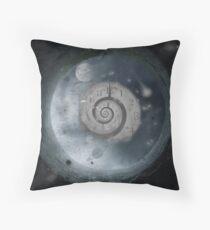 Travel through time...... Throw Pillow