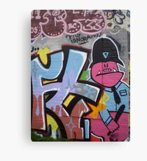 Old School Graffiti, Hackney Wick, London Canvas Print