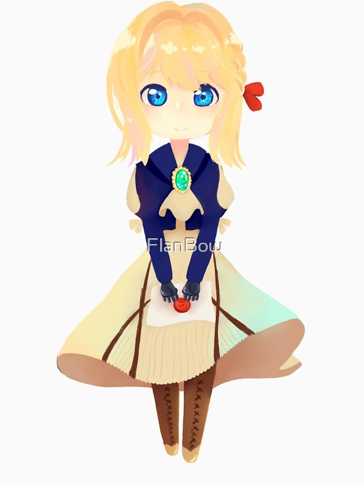 Chibi Violet Evergarden von FlanBow
