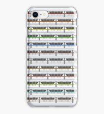 Monorail Fleet iPhone Case/Skin