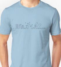 Kaiju passing by Unisex T-Shirt