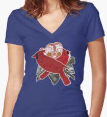 Cardinals Women's Fitted V-Neck T-Shirt