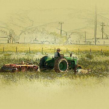 tractor by farmdogger