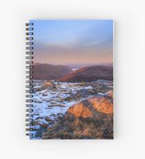 Moylenanav Sunset Spiral Notebook