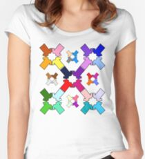 Rainbow Tees Women's Fitted Scoop T-Shirt