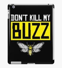 Bee bees honeybee buzz iPad Case/Skin