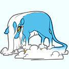 Cloudycorn Blue by Broeckchen