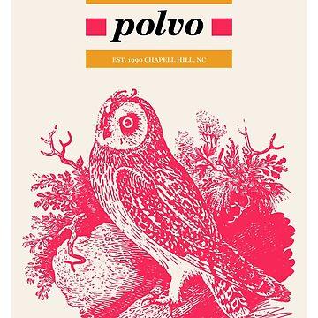 Polvo Pink Owl Bird by reydefine