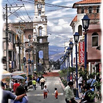 Street Scene In Cotacachi, Ecuador by alabca