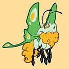 Mothicorn Orange by Broeckchen
