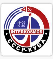 INTERKOSMOS Интеркосмос 1980er Jahre Sowjetisches Raumfahrtprogramm Sticker