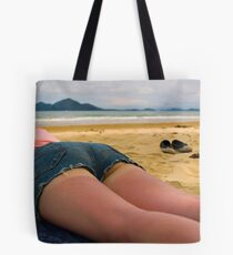 Sunburn....  Tote Bag