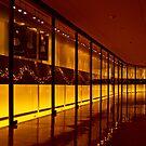 Lighted Hall by aaronarroy