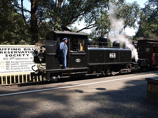 Quot Puffing Billy 5 Quot Posters By Virginia Mcgowan Redbubble