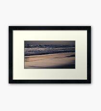 Sunset sand Framed Print