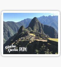 Macchu Picchu Sticker