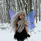 GOTHIC FAIRY- Fairies in the Snow by TheMagicCrafter