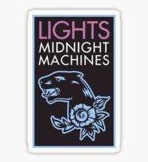 LIGHTS Midnight Machines Logo Sticker