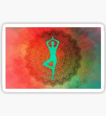 Yoga Mandala Sticker