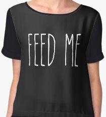 Feed Me Chiffon Top